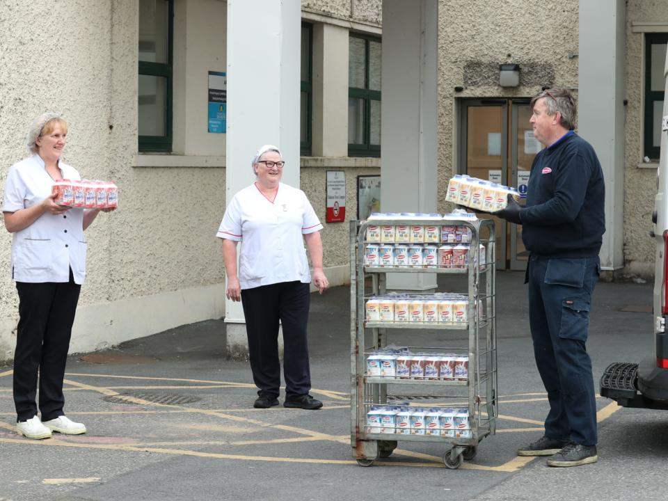 Glanbia Ireland Staff Hospital Donations